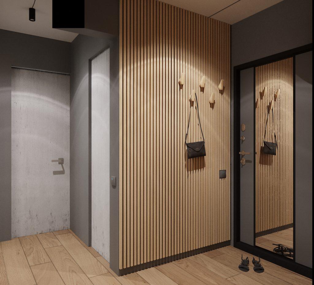 коридор лофт